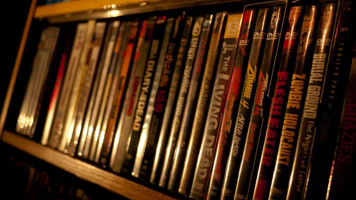 Zombie Movie DVDs   Corey Graham