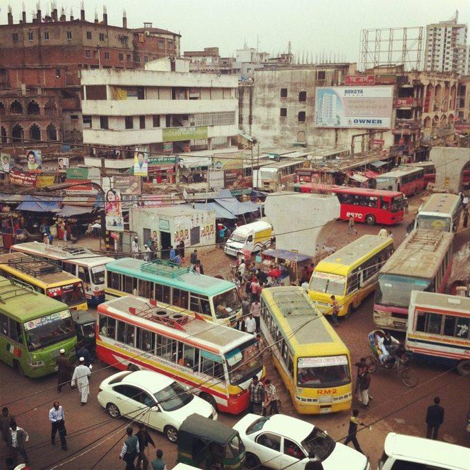 Dhaka Gridlock