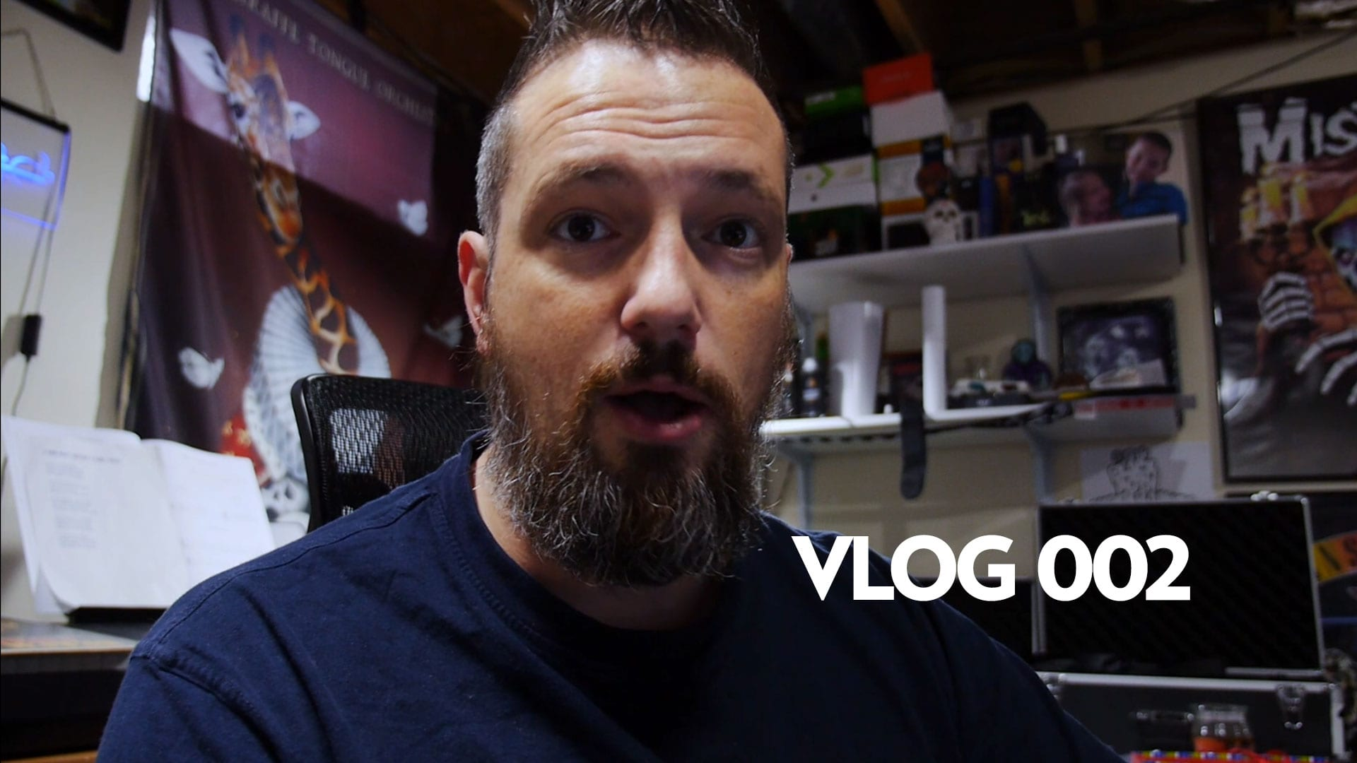 Vlog 002: More Stuff